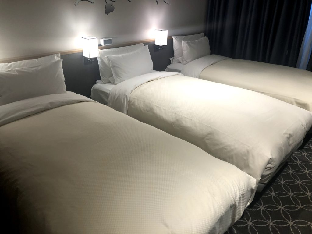 ホテルグレイスリーソウル・部屋